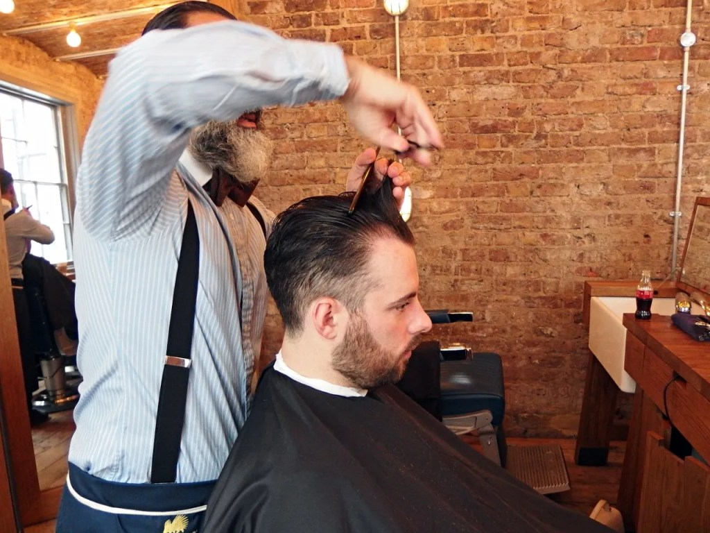 Ruffians Barbers Covent Garden London