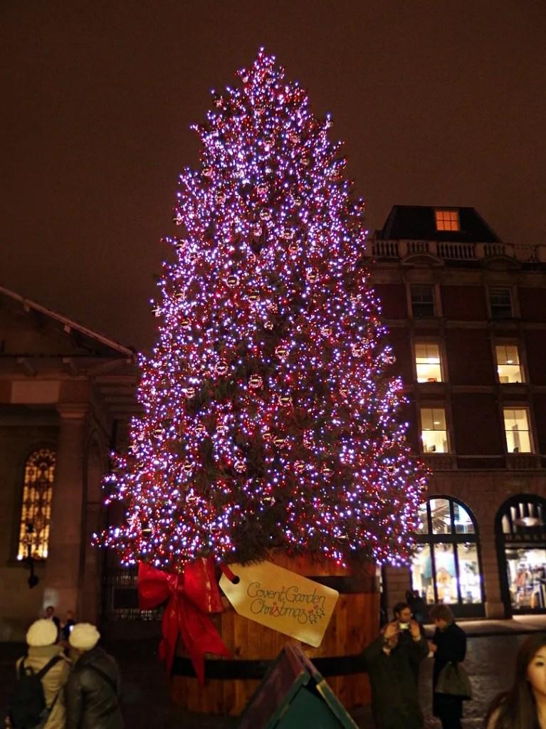 Christmas Tree Covent Garden