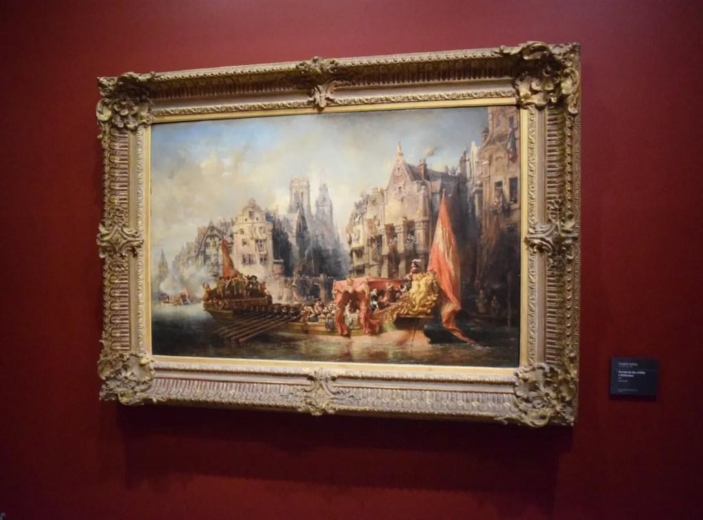 Painting at Musee Dorsay