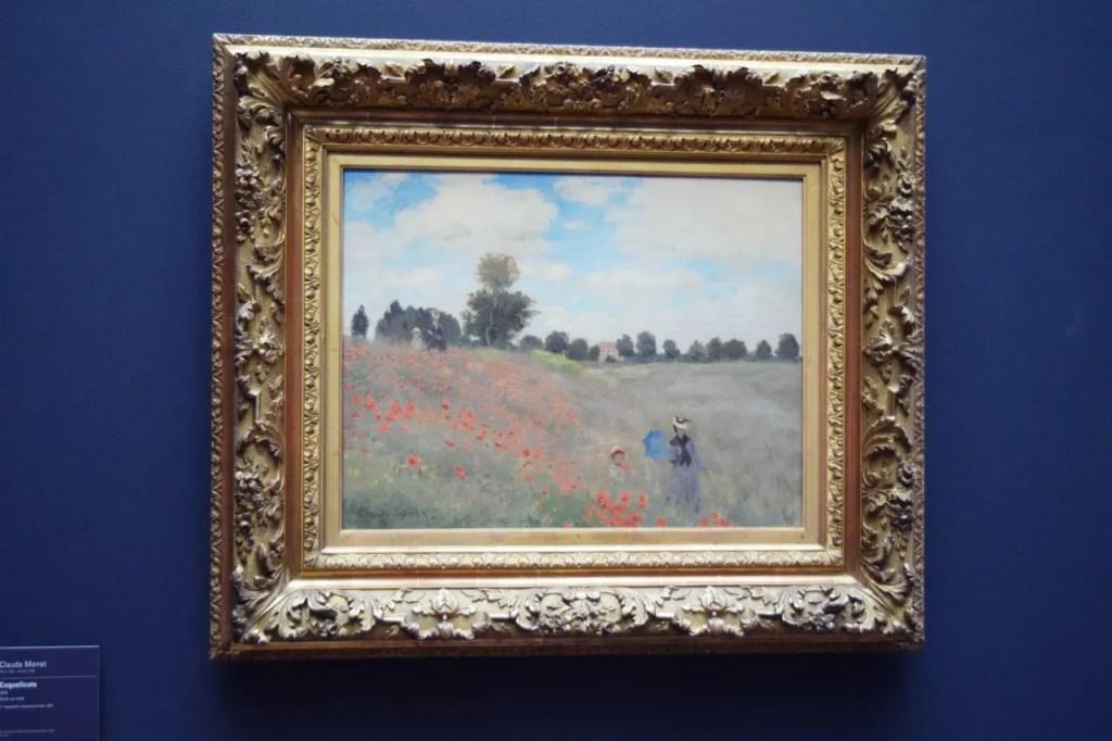 Monet Poppies Musee Dorsay Paris
