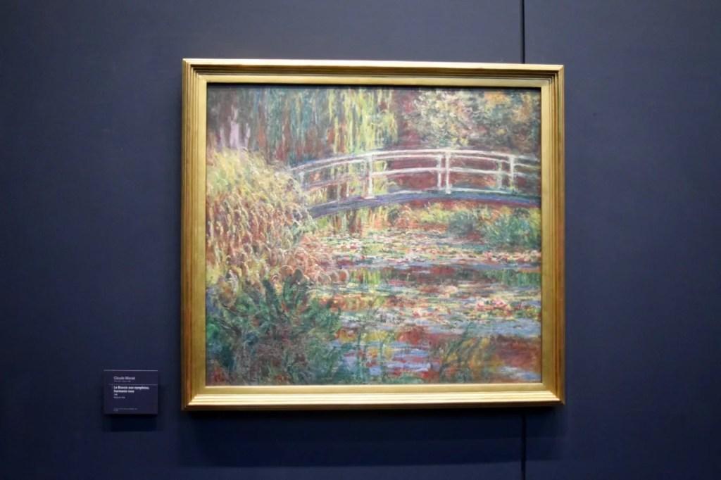 Claude Monet Musee D'orsay Paris