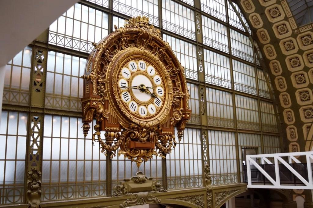 Musee D'Orsay Clock Paris