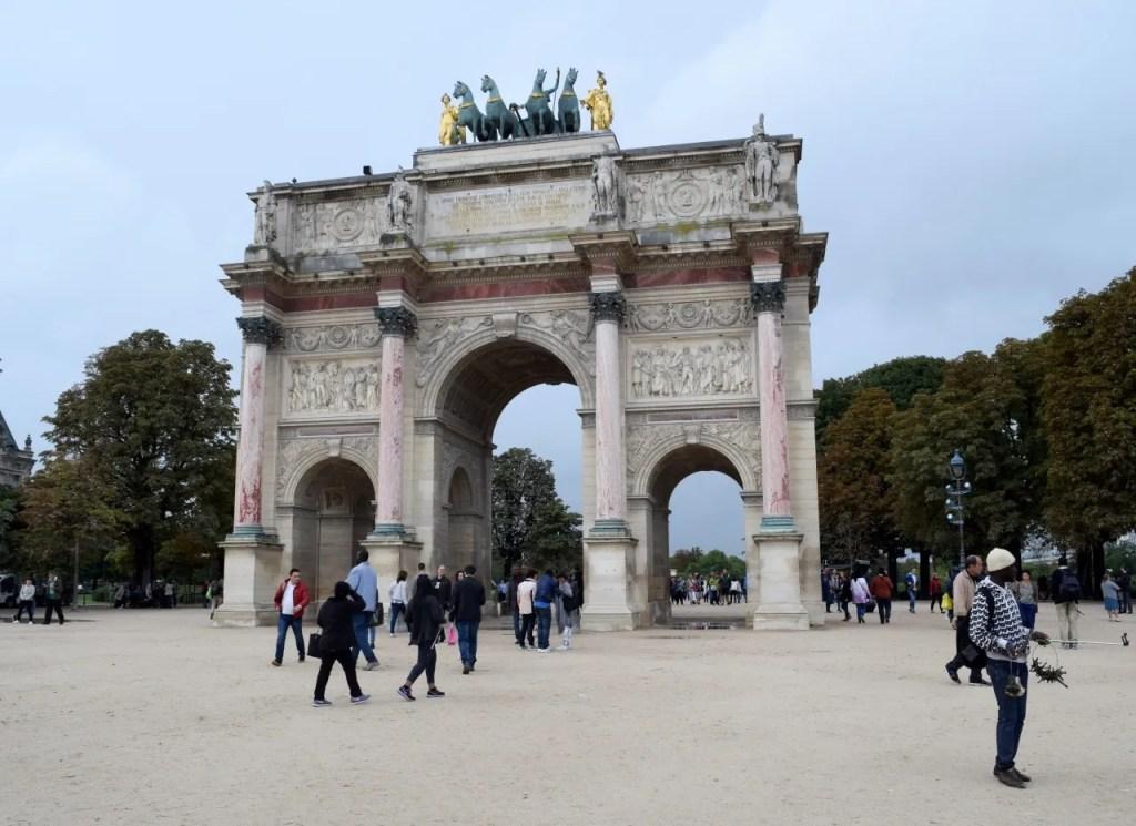 Paris arc