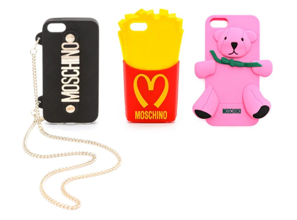 Statement Moschino iPhone cases