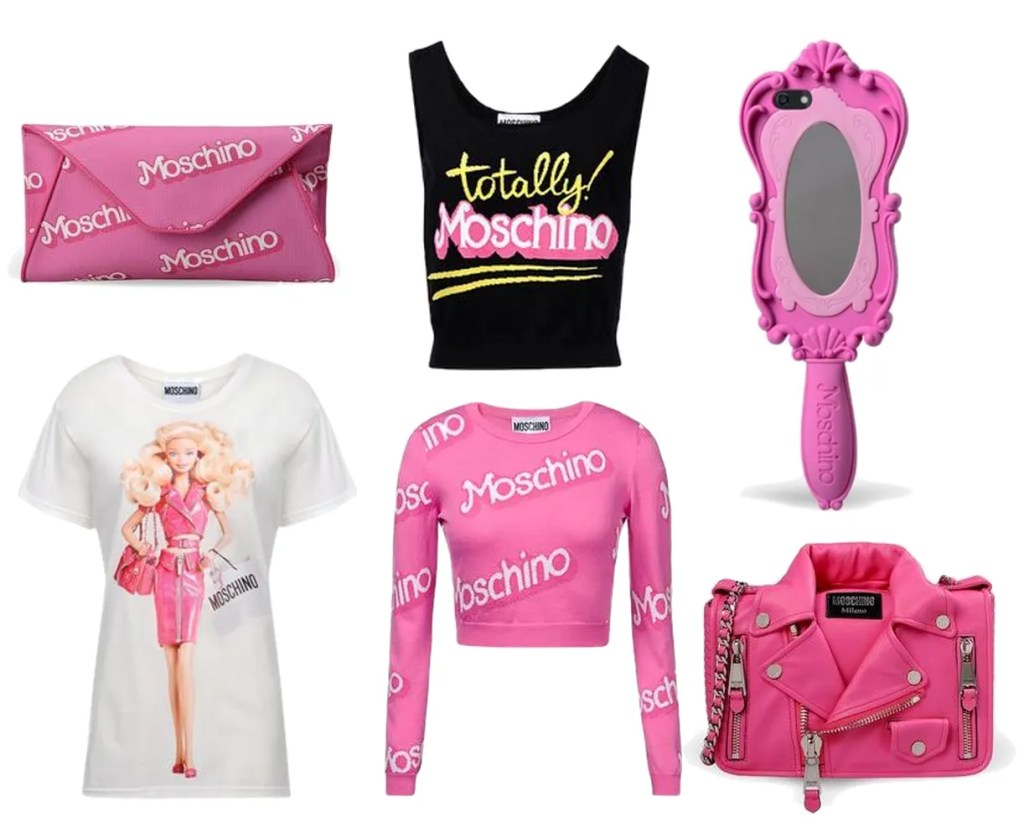 Moschino Barbie Collection SS15