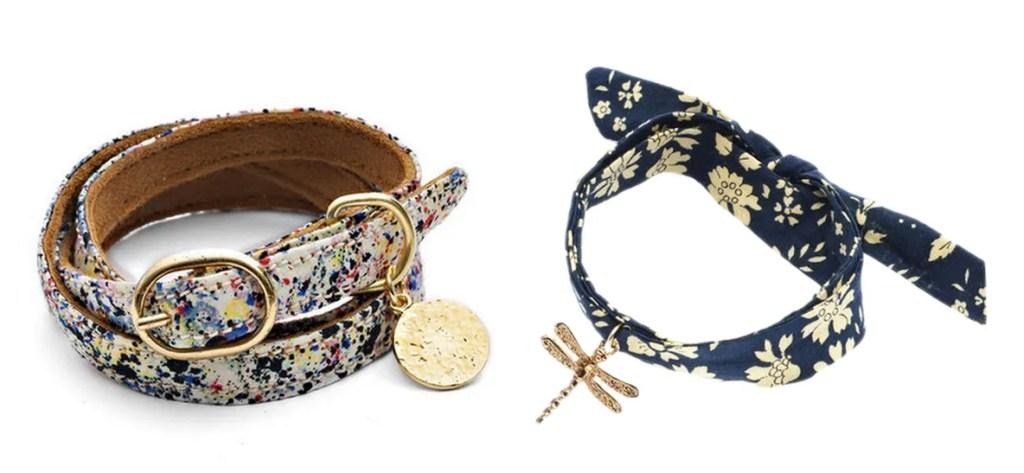 Cinderela B Liberty Print Bracelets
