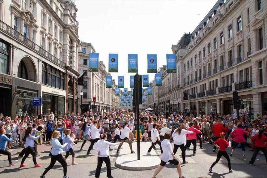Regent Street Sundays July Dance
