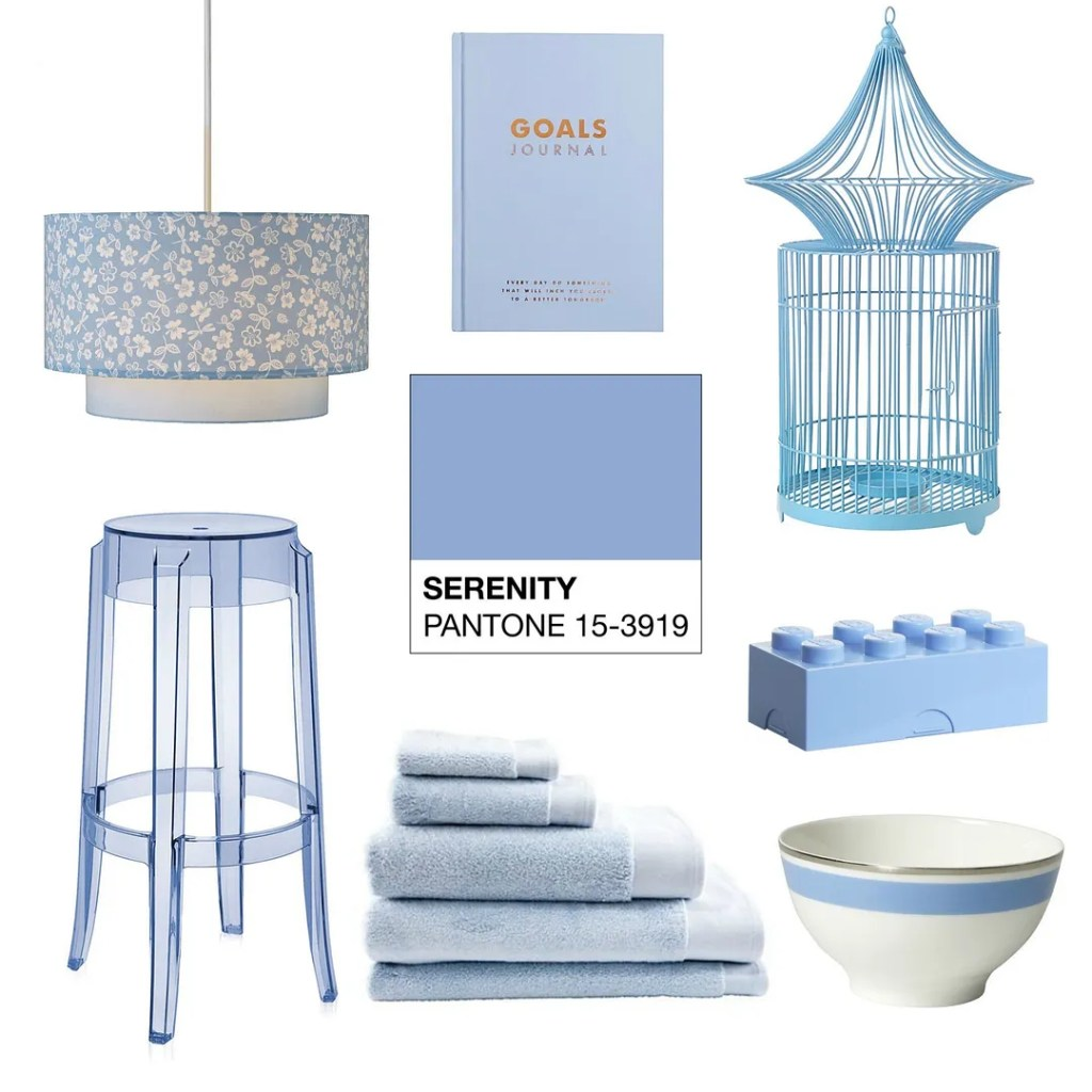 Pantone Serenity Colour Of The Year 2016 Interior Inspiration| London Lifestyle Blog The LDN Diaries