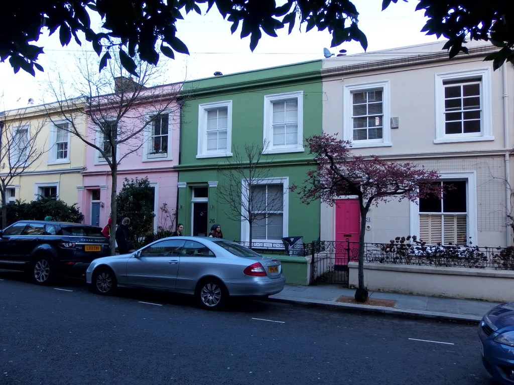 Notting Hill Coloured Houses