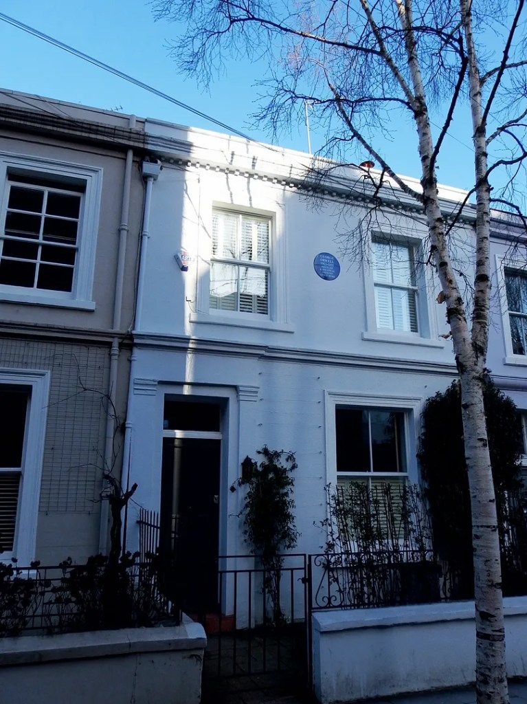 George Orwell Blue House Notting Hill
