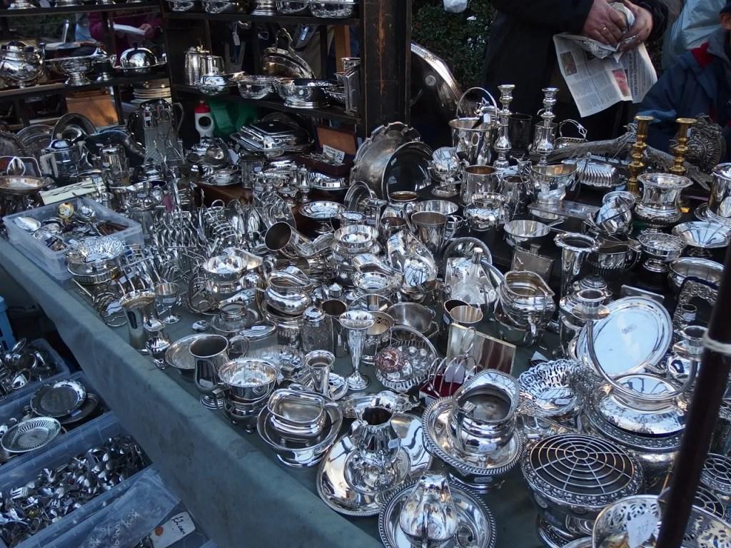 Silver at Portobello Market