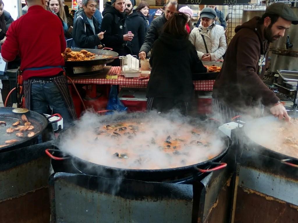 Paella Portobello Market