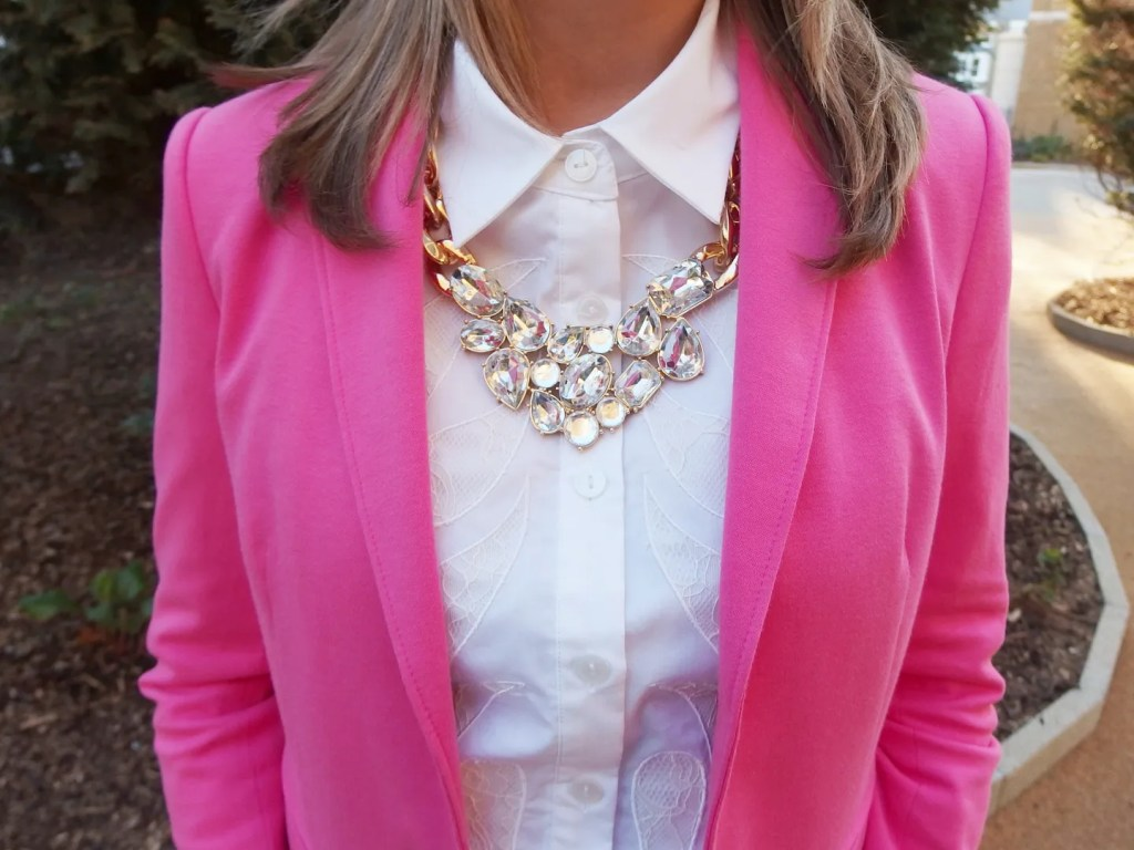 Jewel and Chain Necklace