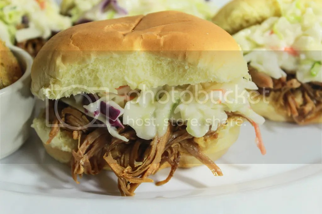 Spicy Pulled Pork Sliders with Fried Pickles