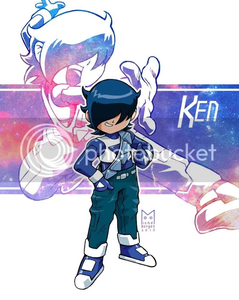Ken Combo Rangers Azul vers