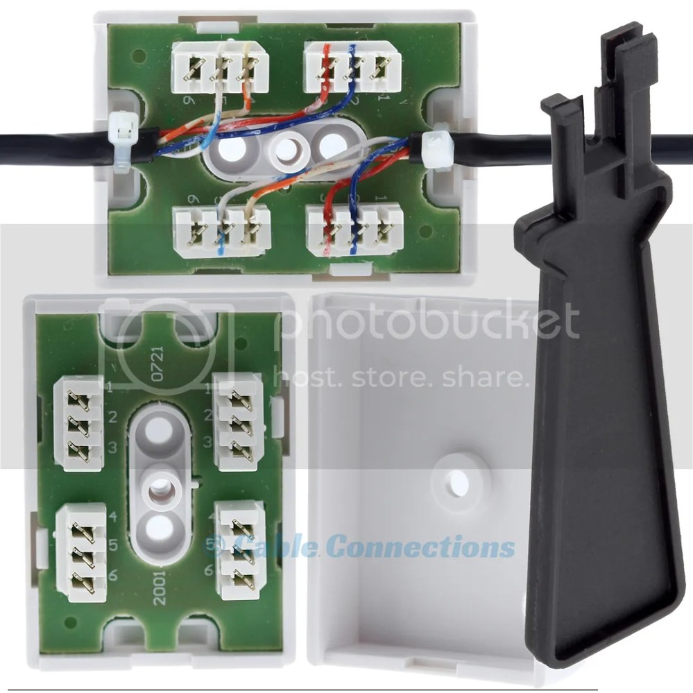 medium resolution of details about junction box for telephone cable wire bt77a idc tool 2 3 pair joining connection