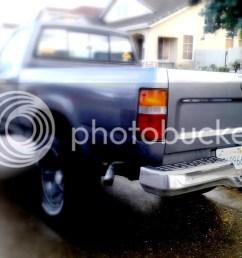 89 95 toyota pickup rear bumper dublin pleasanton livermore 50 [ 1024 x 768 Pixel ]