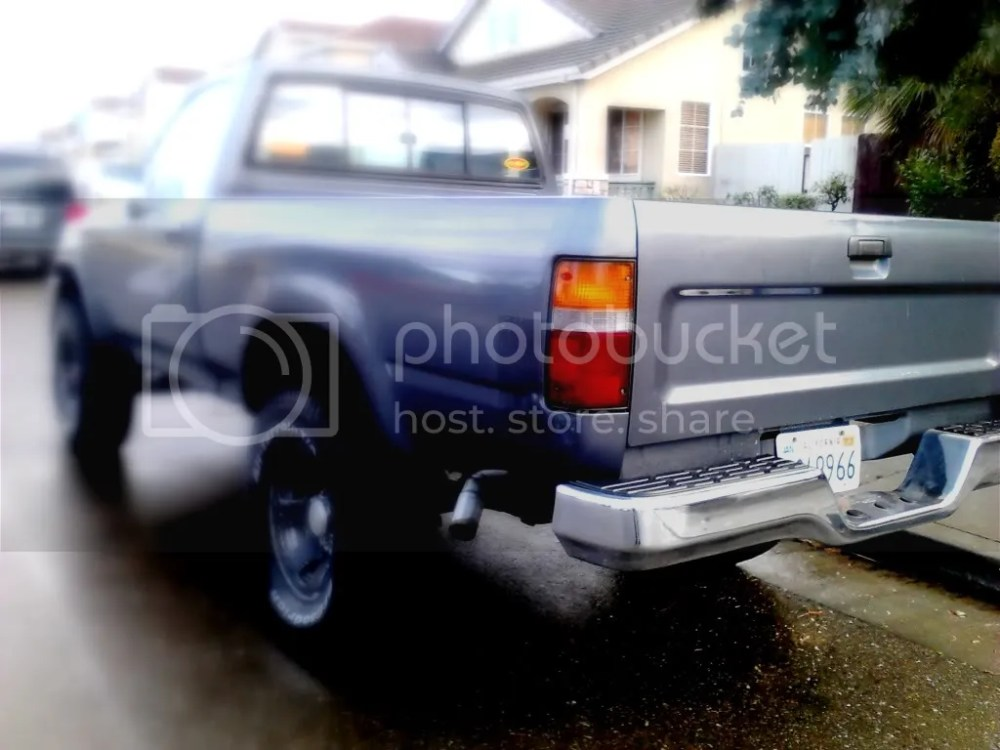 medium resolution of 89 95 toyota pickup rear bumper dublin pleasanton livermore 50