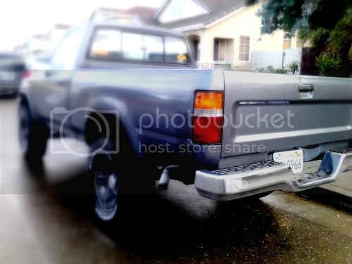 small resolution of 89 95 toyota pickup rear bumper dublin pleasanton livermore 50