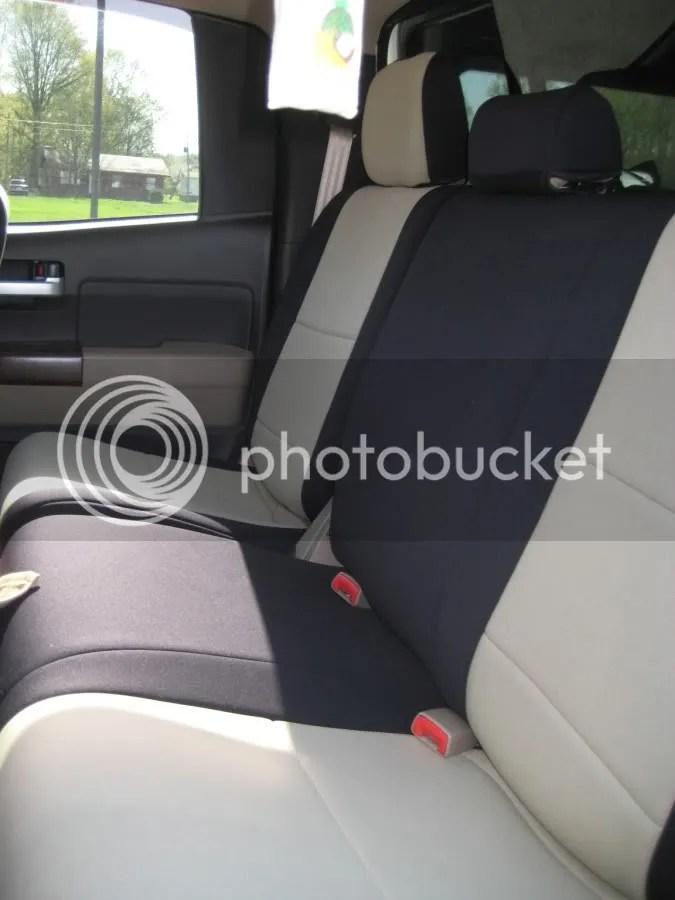 Seat covers for 2010 Tundra  TundraTalknet  Toyota