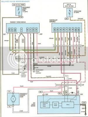 1981 Wiper motor wiring  CorvetteForum  Chevrolet