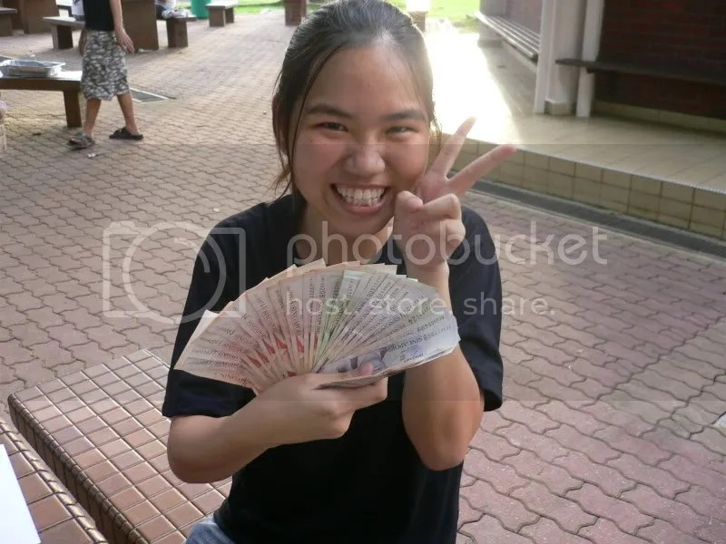 Money-fan! HAHAHA