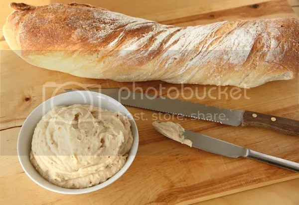 bean garlic spread