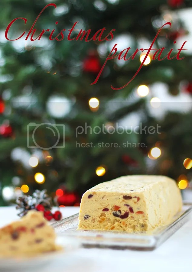 Christmas Cake And Brandy Parfait