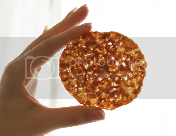 Maple oatmeal lace cookies  pizzarossa