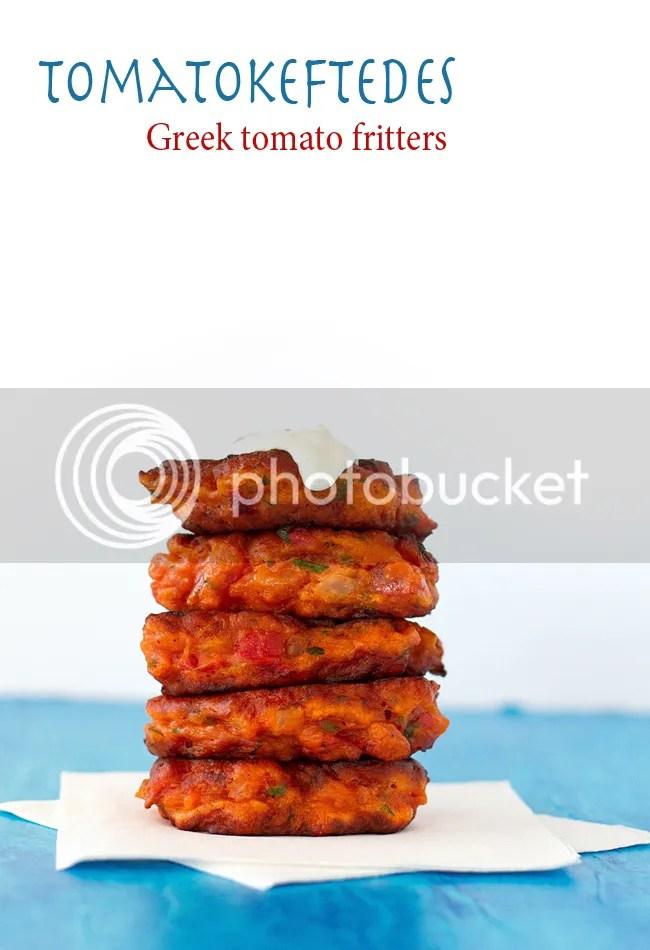Tomatokeftedes - Santorinian (Greek) tomato fritters