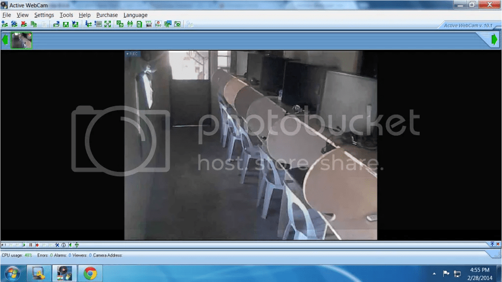 use webcam as a cctv justmythoughts