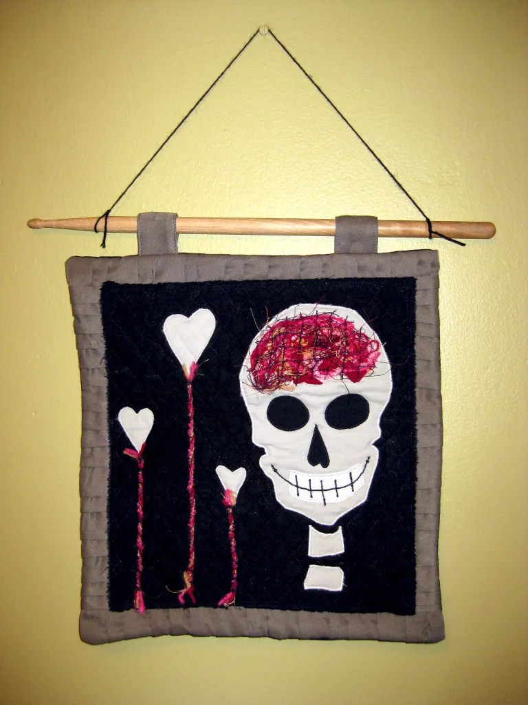 Brains & Love Wall Hanging