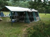 Oztrail 12 Person Tent & Wanderer Goliath Tent - 10 Person ...