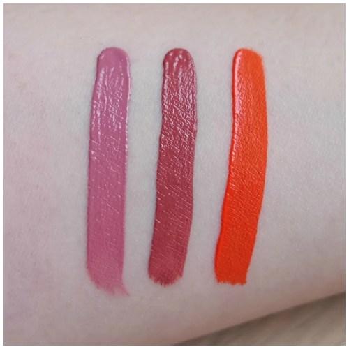 Kat Von D Everlasting Liquid Lipsticks Lovesick, Double Dare, A-Go-Go