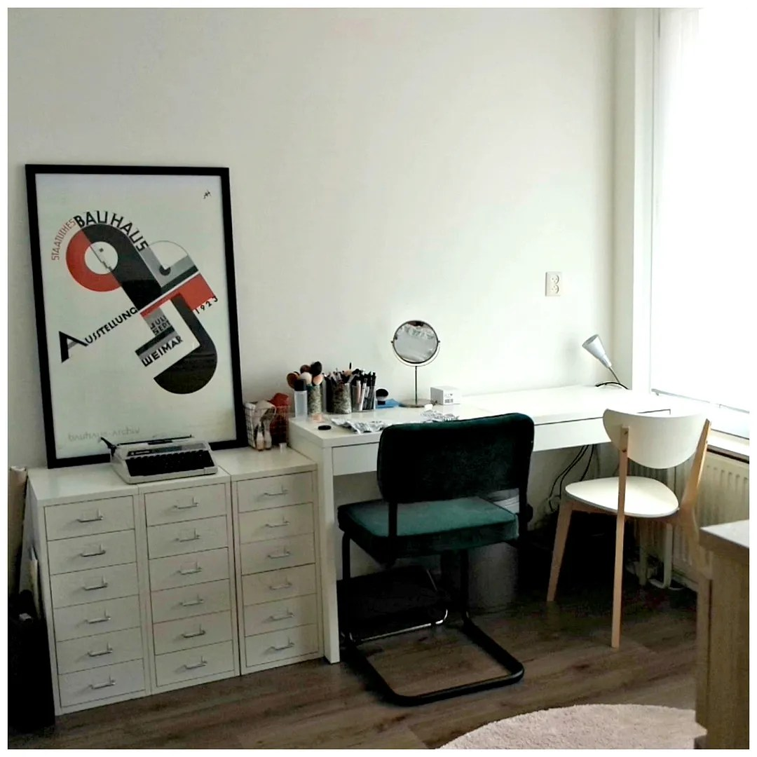 beauty room office tour