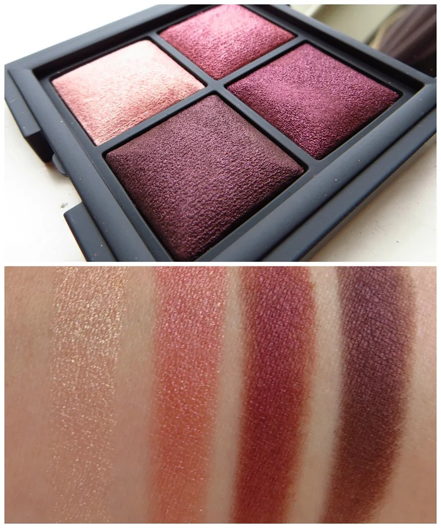 Kiko Color Fever Eyeshadow Palette 101 swatch