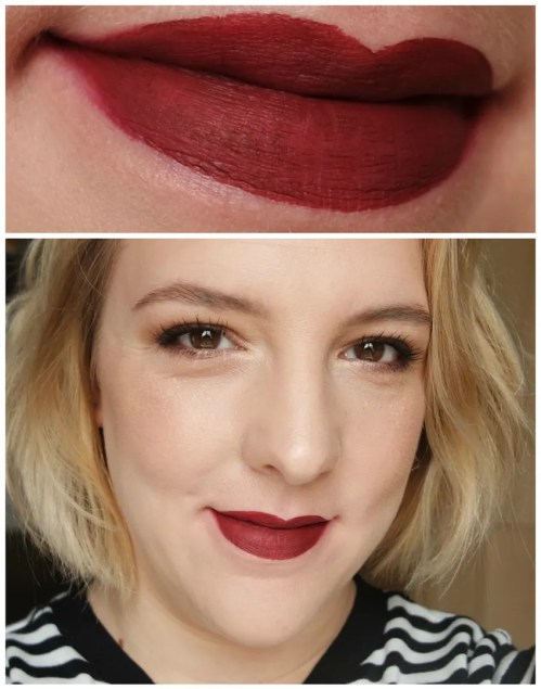 Anastasia Beverly Hills liquid lipstick review swatch dusty rose veronica heathers