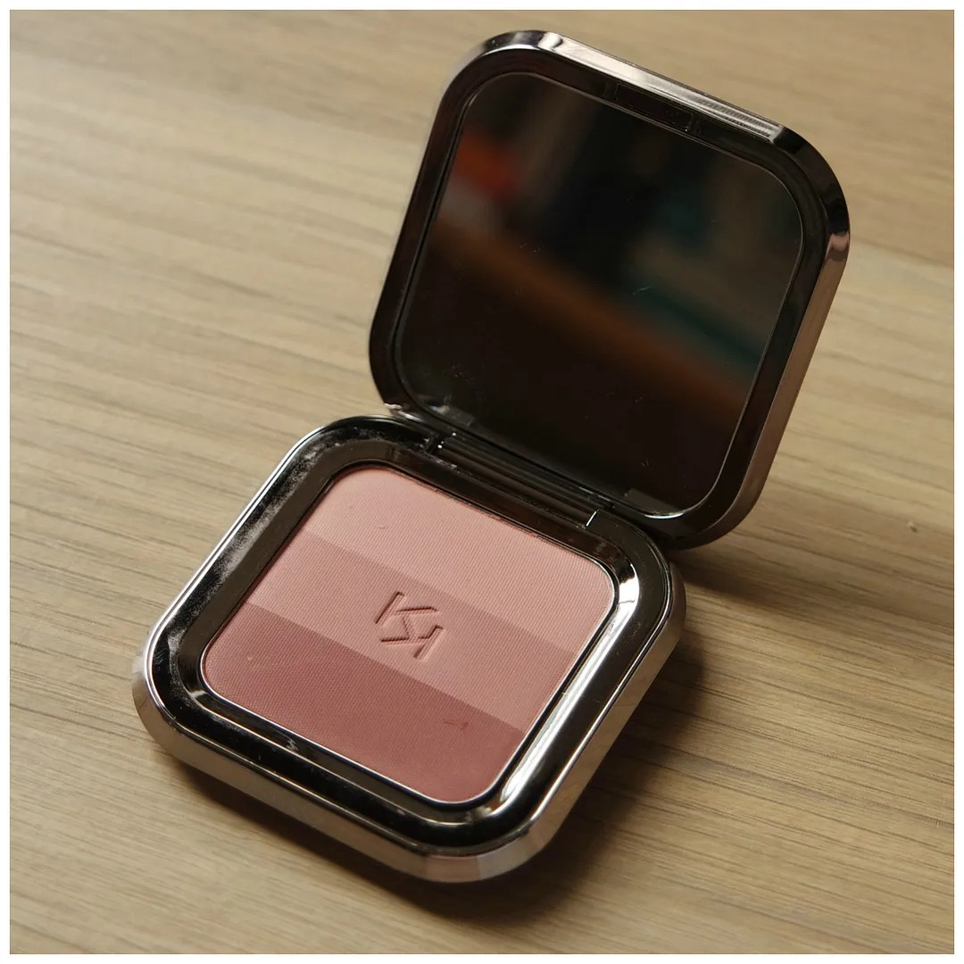 Kiko Shade Fusion Trio blush 05 review swatch