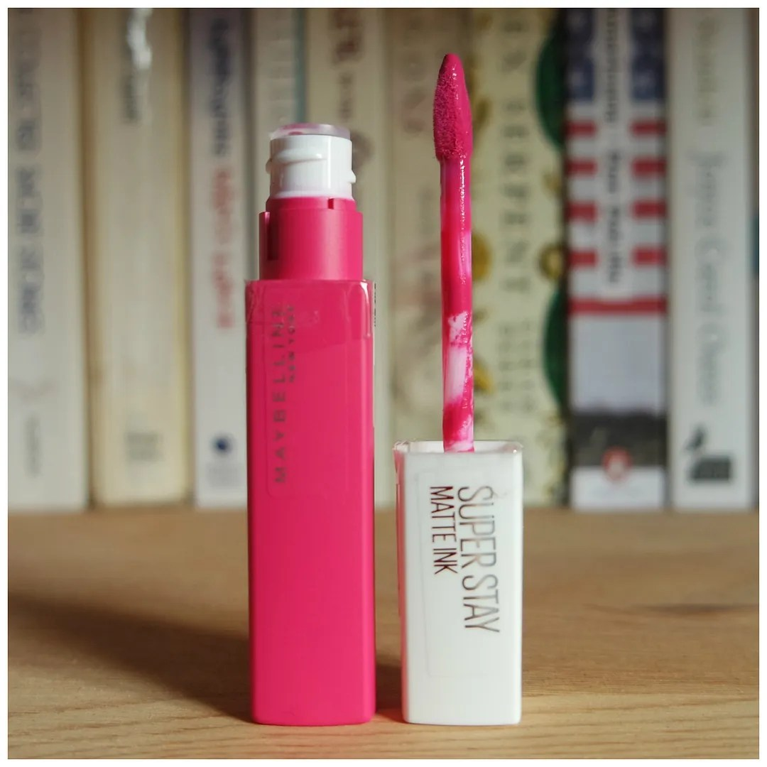 Maybelline lip ink liquid lipstick drugstore review swatch loyalist lover pioneer romantic