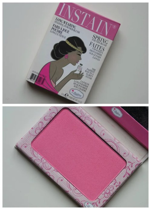 The Balm Instain Longwearing Staining Powder Blush in Lace