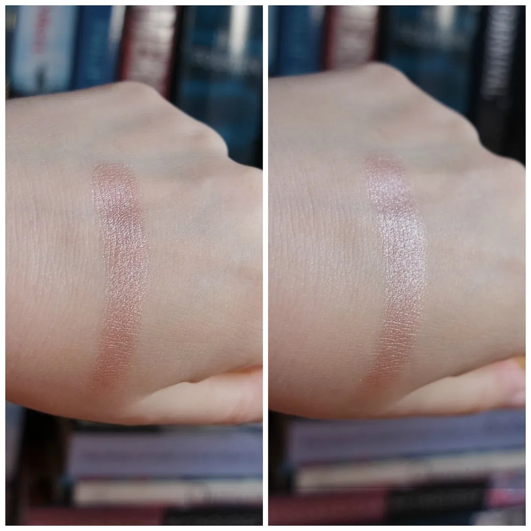 essence metal chrome blush review swatch copper crush
