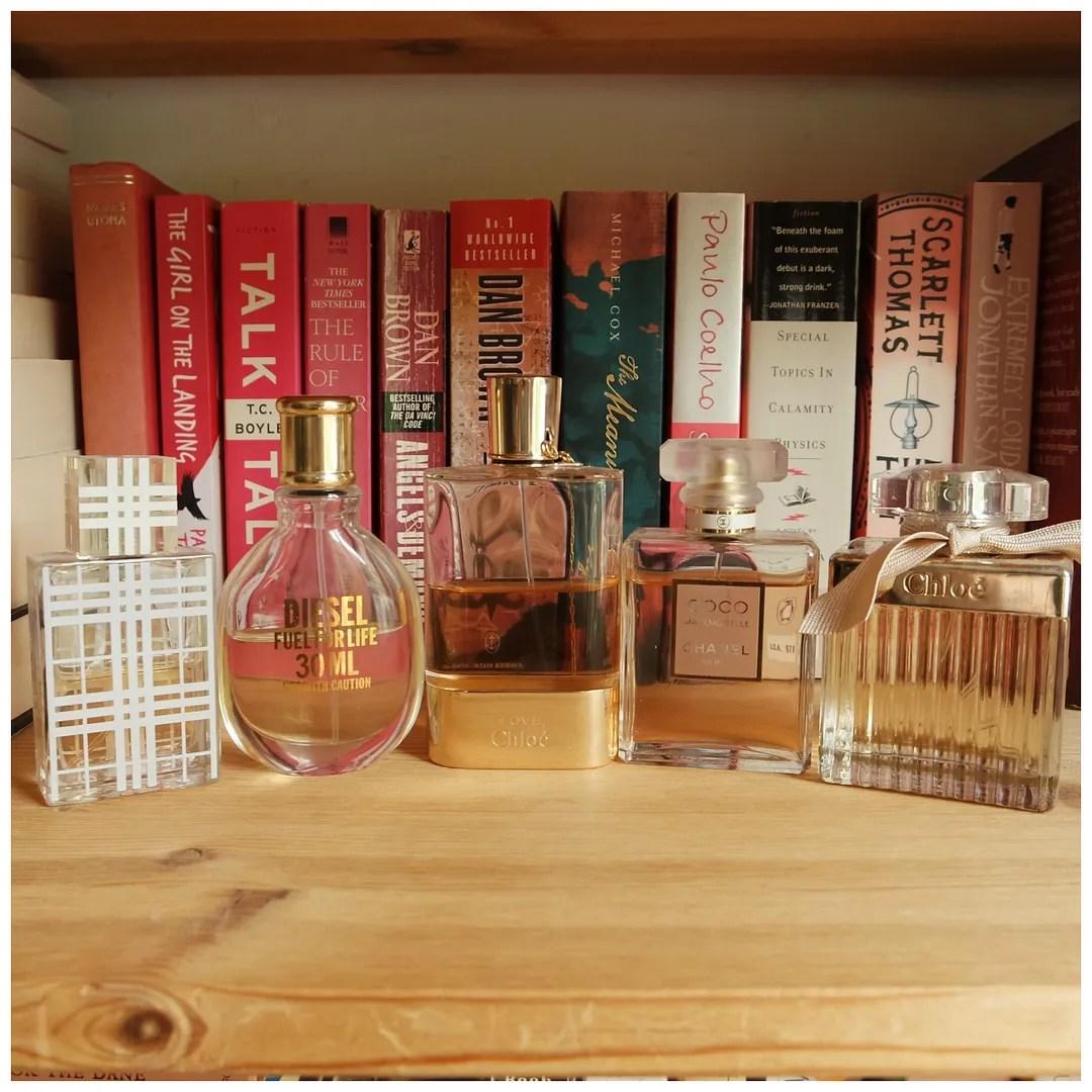 favorite fragrance perfume fall 2017 chanel chloé diesel burberry