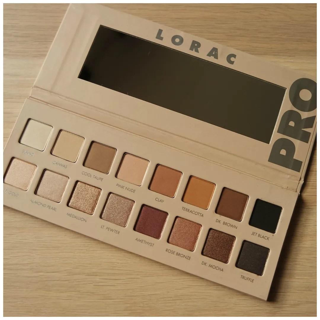 Lorac Pro 3 eyeshadow palette review