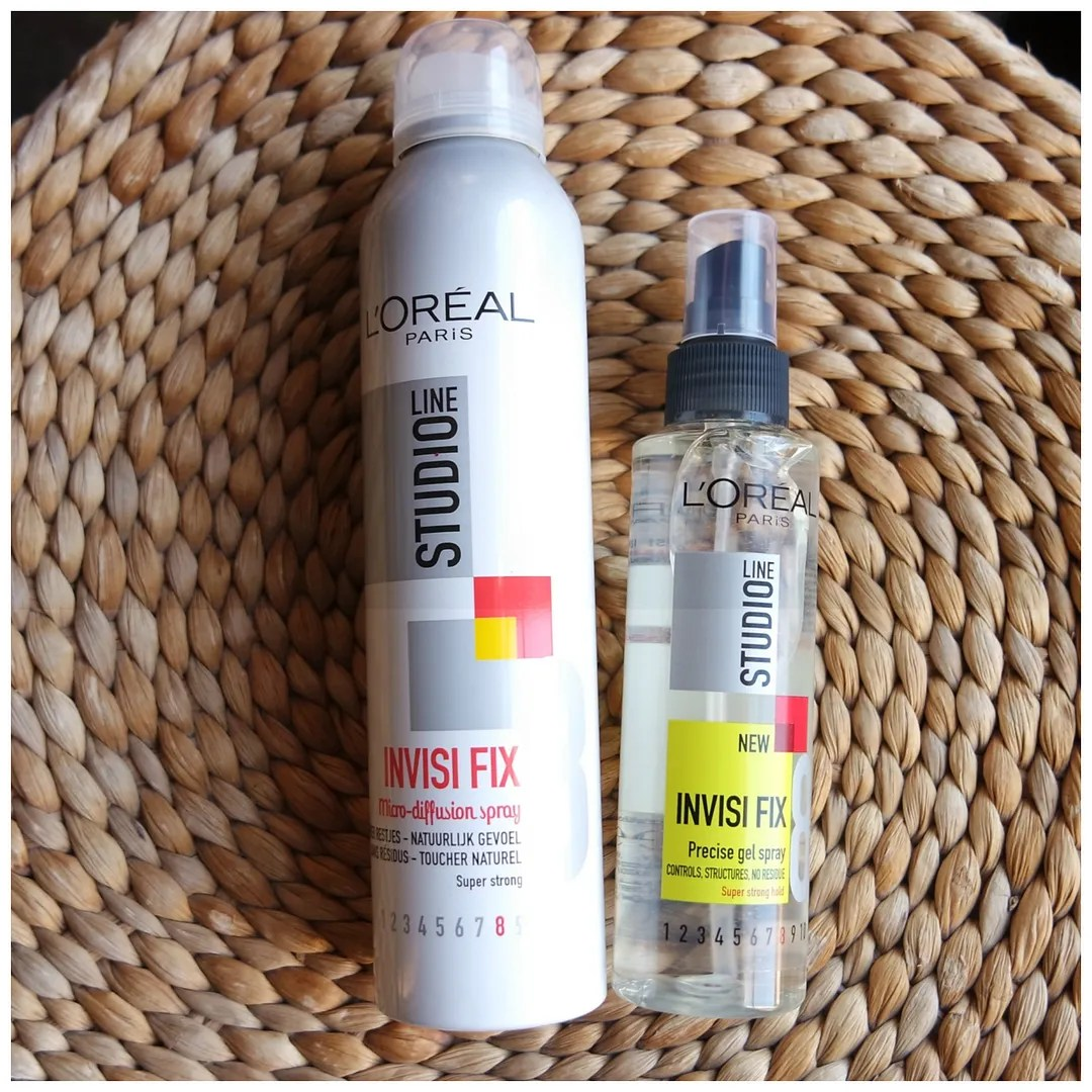 review l'oreal invisi fix haircare