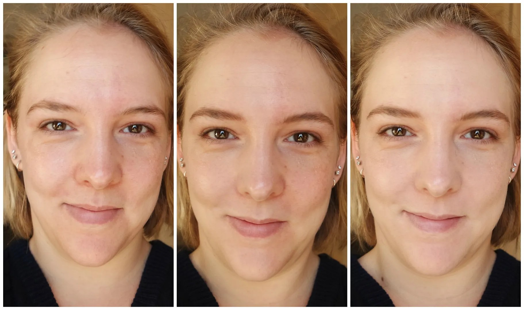 Maybelline Fit Me Matte + Poreless foundation 110 Porcelain review swatch
