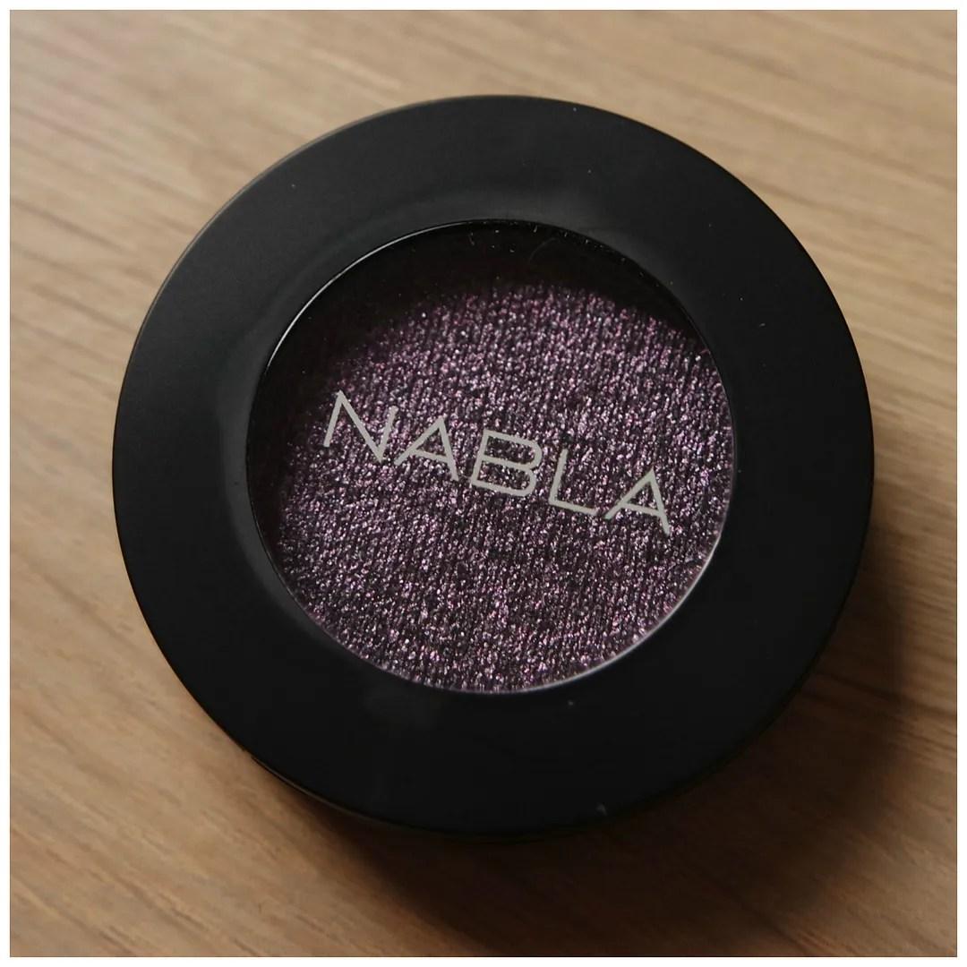 nabla eyeshadow selfish review swatch duochrome