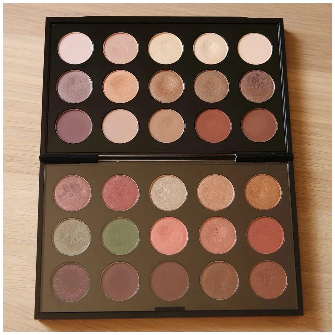 Updated MAC eyeshadow palette