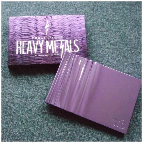 urban decay heavy metals eyeshadow palette limited edition holiday 2017 review swatch