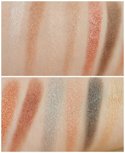 Viseart Sultry Muse eyeshadow palette 05 swatch