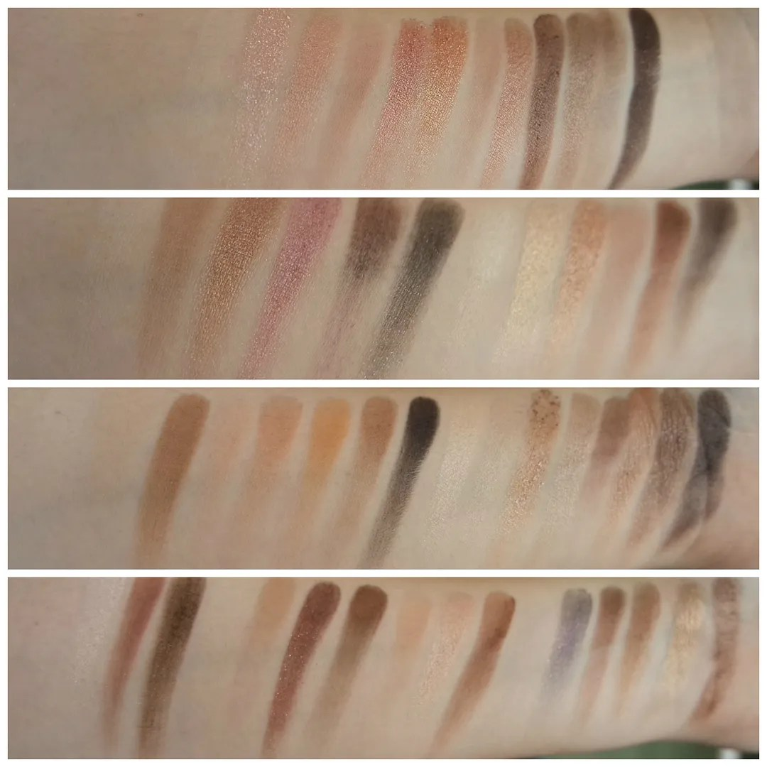 neutral palette guide edit which neutral eyeshadow palette should you buy urban decay naked 3 lorac pro 3 the balm nude dude too faced chocolate bar